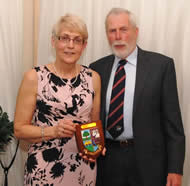Pride of Meltham Award Winner, Mr Judith Powell