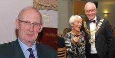 Pride of Meltham Award Winners, Alan Redfearn and Jean Danson